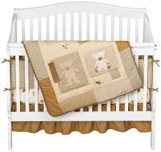 amazon com eddie bauer 4 piece crib set teddy bear discontinued