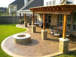 Backyard Patios Ideas  Smashingplatesus - Backyard paver patio designs pictures