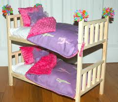 Bunk Bed For Dolls Brilliant American Bunk Bed Doll Bunk Bed Mckenna Bunk Bed
