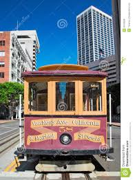 San Francisco Cable Cars Map by San Francisco Cable Car Stock Photo Image 50799938