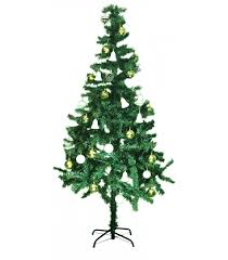 artifical christmas trees 150 cm green artificial christmas tree fully decorated with