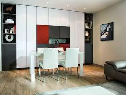peinture sp iale meuble de cuisine salle à manger avec grand meuble de rangement coloré décoration