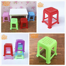 Dollhouse Dining Room Furniture 1 12 Dollhouse Dining Room Furniture Plastic Chairs Stool