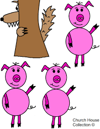 three little pigs and the big bad wolf lesson