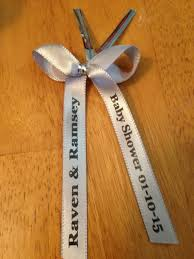 personalized ribbon for baby shower personalized ribbons for baby shower home designs idea