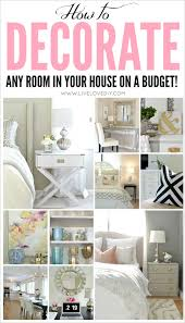 Decorating Bedroom On A Budget by Livelovediy How To Decorate On A Budget Our House Tour