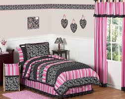 twin bedding sets for girls furniture dazzling pink embroidered bedroom bedding set queen