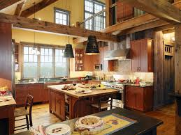 kitchen modern rustic kitchen design with kitchen island design