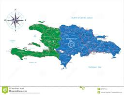 Map Dominican Republic Map Dominican Republic Vector Royalty Free Stock Image Image