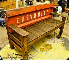 Bench Made From Tailgate Best 25 Tailgate Bench Ideas On Pinterest Mancave Ideas Shop