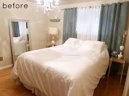 Small Bedroom Makeover - before u0026 after bedroom makeover u2013 design sponge