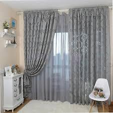 rideau pour chambre eg motif feuille fenêtre transparent rideau pour chambre à coucher