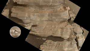imagenes de marte ocultas por la nasa antena 3 tv encuentran diminutos cristales en una roca de marte