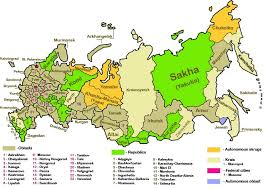 russia map with all cities russian travel guide