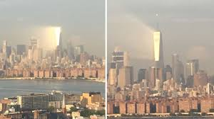 world trade center lights photos striking ray of light beams off world trade center days