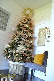 decorating my 2013 sunburst mirror tree