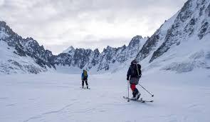 ski touring routes in les grands montets chamonet com