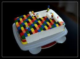 lego u0027the simpsons u0027 birthday cake jrgn blk flickr