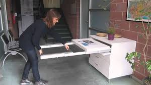 Pull Out Kitchen Table Frame Mm With Legs YouTube - Kitchen pull out table