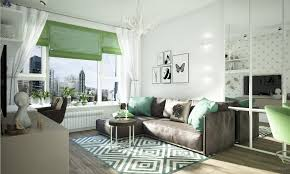 gorgeous studio apartment design with beautiful and perfect