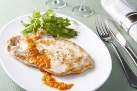 cuisine escalope de dinde recette de escalope de dinde au coulis de poivrons rouges et piment