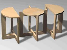 small nest of tables space modern vladimir kagan nesting tables with prepare 13