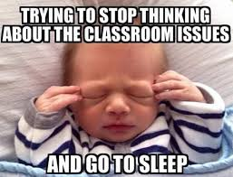 Sunday Night Meme - teacher memes sunday night anxiety faculty loungers