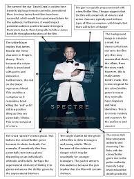 Spectre Film James Bond Spectre Poster Analysis