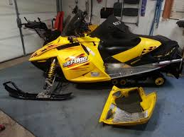04 skidoo 600 ho power idle problems