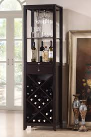 Latitude Run Laverton  Bottle Floor Wine Cabinet  Reviews Wayfair - Kitchener wine cabinets