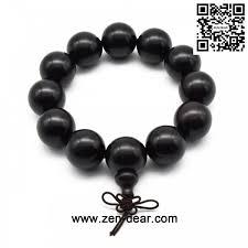 fashion beads necklace images Zen dear unisex natural ebony wood buddhist prayer bead necklace jpg