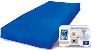 hospital bed mattress low air loss lateral rotation anti