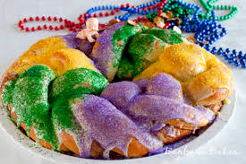 mardi gras baby mardi gras king cake recipe barbara bakes
