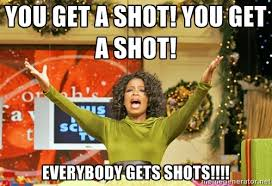 Oprah Meme You Get - tequila shots with oprah and gayle in ibiza tequila shots oprah