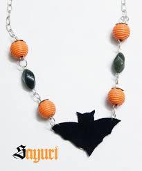 last minute spooky diy halloween jewelry