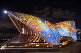 indigenous art lights up the sydney opera house cnn style