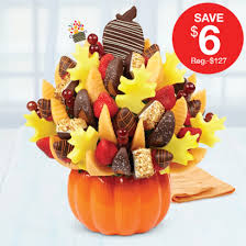 dipped fruit baskets salted caramel harvest bouquet orange swizzle berries hazelnut