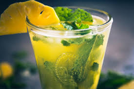 mojito cocktail mix virgin pineapple mojito recipe non alcoholic pineapple mojito