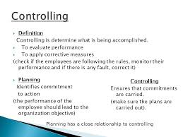 controlling definition bus 103 business management ppt download