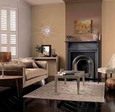 Living Room Ideas With Brown Sofas White Vaulted Ceiling Wood Floating Shelves Black Hanging