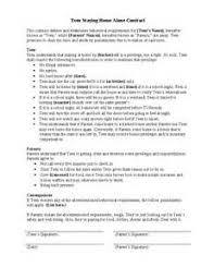 employment contract template doc example good resume template