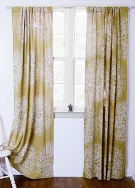 yellow curtains bohemian sheer curtain panels ichcha