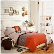 orange duvet cover u003e american contracted wind cotton 4 piece