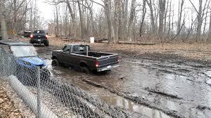 Ford Diesel Trucks Mudding - ford obs 7 3 single cab mudding youtube