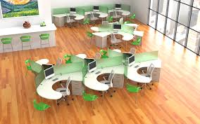 increase productivity through an open office floor plan philip