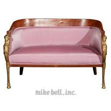 shoing canapé empire style canape antique shopping buyer for hire