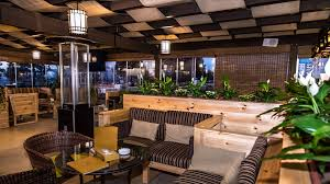 Restaurant Patio Heaters by Terrace Café Olivetree Hotel