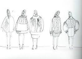 fashion sketchbook fashion design sketches knitwear development