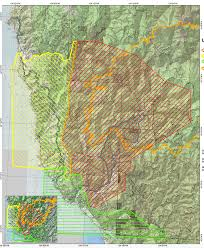 Wildfire Map Chetco Bar Wildfire Near Brookings Hasn U0027t Widened But Is Still A