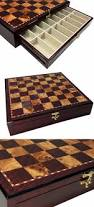 contemporary chess 40856 large 20 high gloss storage chess board